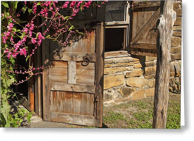 Greeting Card featuring the photograph Mission San Jose 3 by Susan Rovira