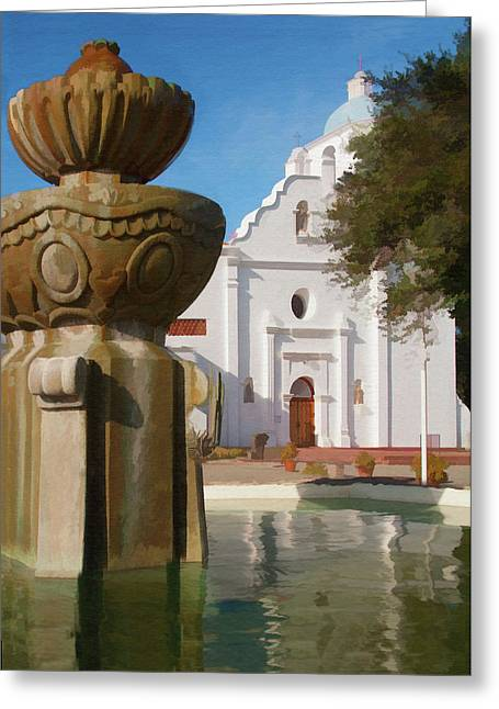 Mission Santa Cruz Greeting Card