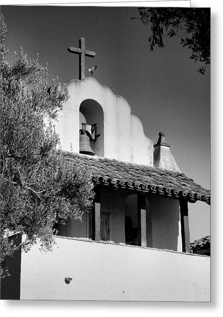 Mission Santa Ines II Greeting Card by Steven Ainsworth
