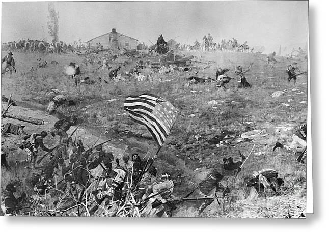 Missionary Ridge, 1863 Greeting Card by Granger
