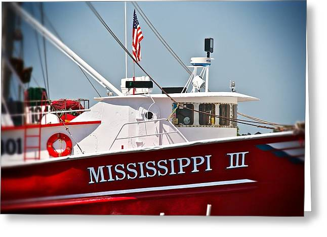 Mississippi IIi Greeting Card