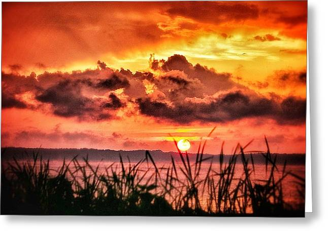 Greeting Card featuring the photograph Mississippi Sunset At The Ross Barnett Reservoir 1 by Jim Albritton