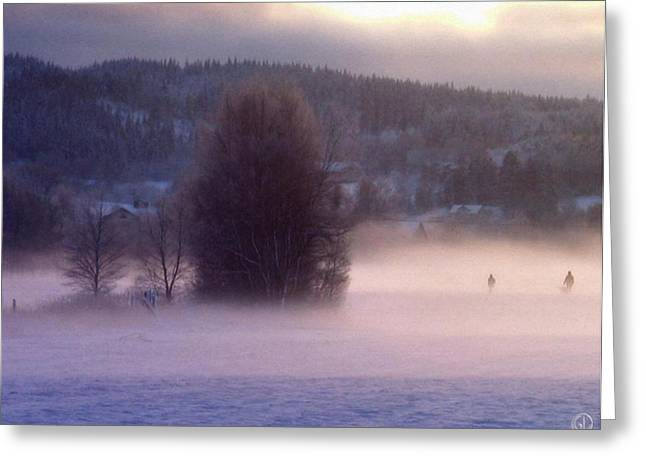 Misty Morning 2 Greeting Card by Gun Legler