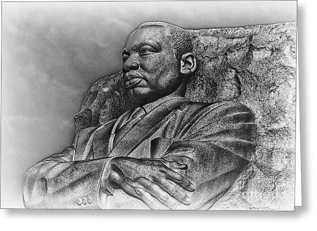 Mlk Memorial Greeting Card