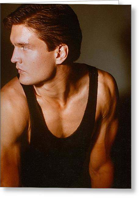 Model Robert Sorensen No. 15 Greeting Card by Robert SORENSEN