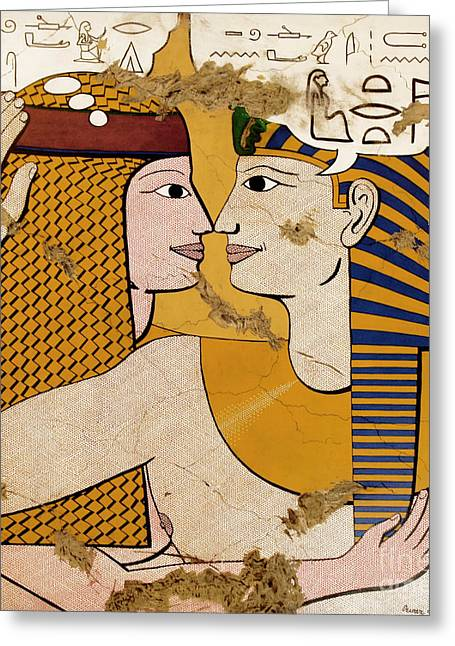 Hathor Greeting Cards - Modern Art Lovers Greeting Card by Richard Deurer