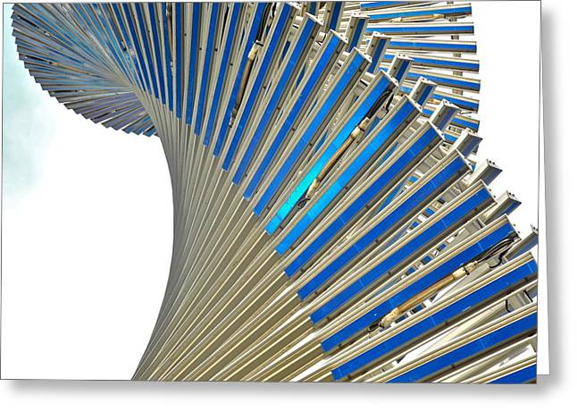 Modern Twist Sculpture Greeting Card by Kirsten Giving