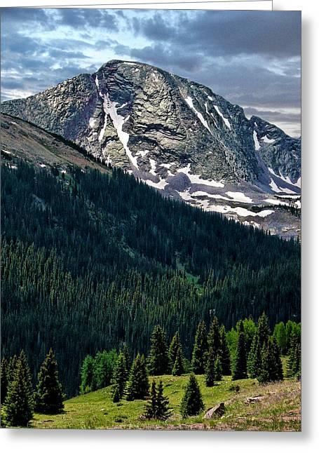 Molas Pass Greeting Card