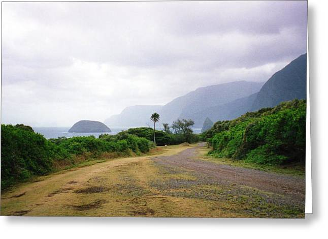 Molokai Coast Greeting Card