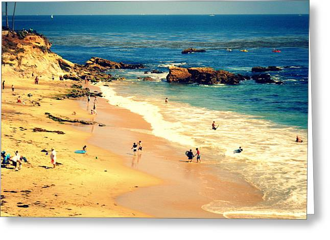 Monarch Beach Day Greeting Card by Kevin Moore