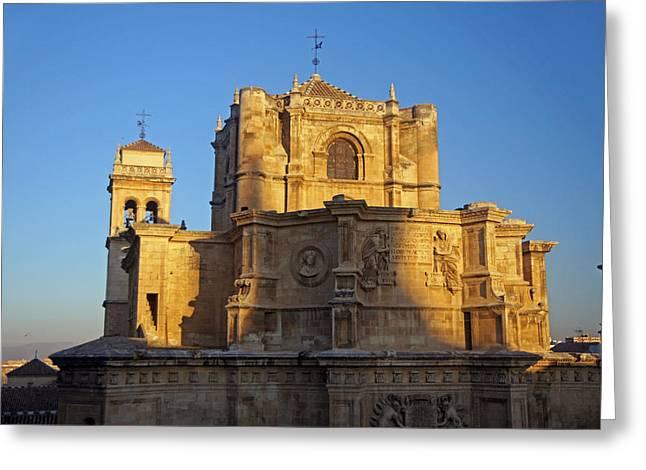 Monasterio De San Jeronimo Greeting Card