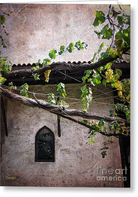 Monastery Garden Greeting Card