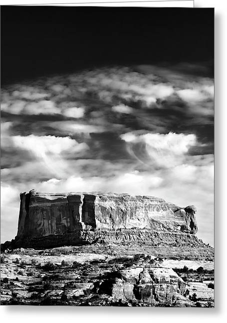 Monitor Butte Greeting Card
