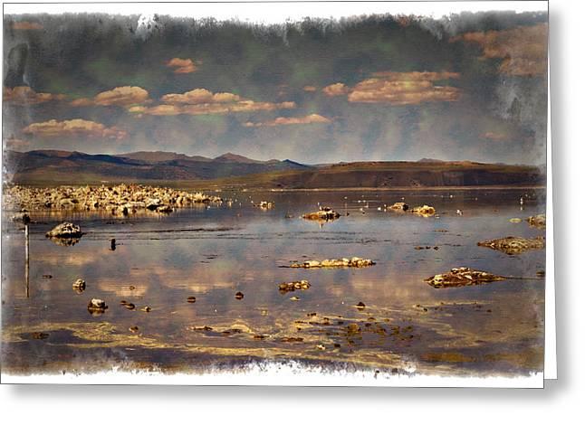 Mono Lake - Impressions Greeting Card by Ricky Barnard