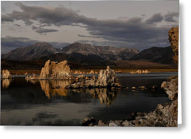Mono Lake At Sunrise Greeting Card