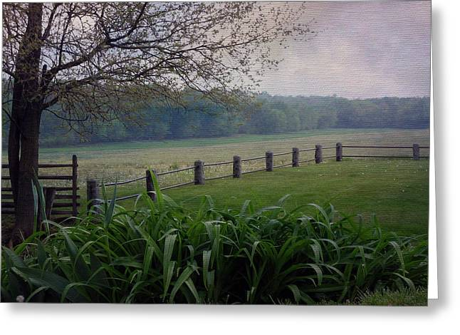 Monocacy Junction Greeting Card by Linda Dunn