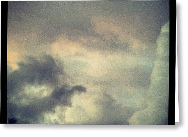 Monsoon Clouds Greeting Card