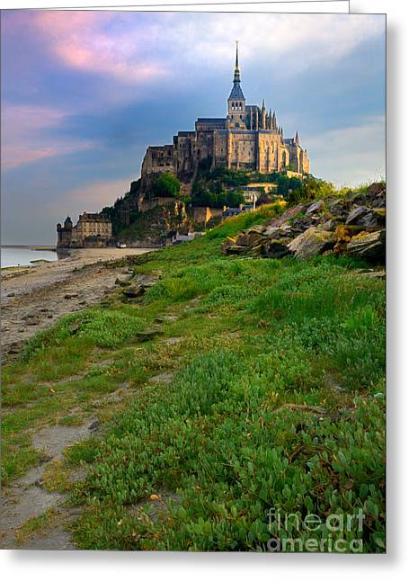 Mont-saint-michel France Greeting Card