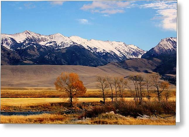 Montana - Big Sky Greeting Card