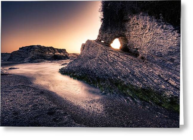 Montana De Oro After Sunset Greeting Card by Matt  Trimble