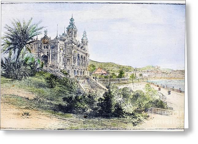 Monte Carlo Casino, 1884 Greeting Card