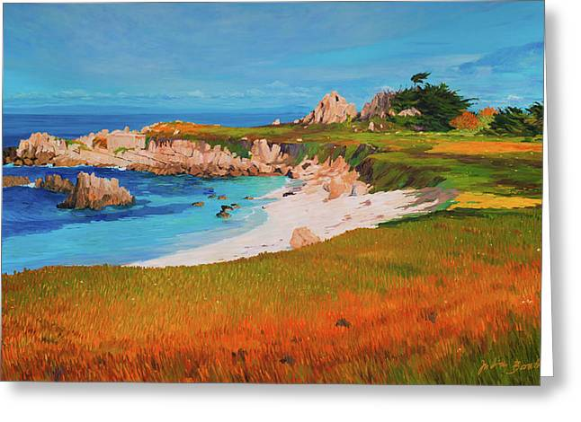 Monterey Peninsula Greeting Card