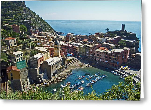 Monterosso Italy Greeting Card