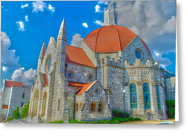 Montgomery Baptist Church Hdr Greeting Card