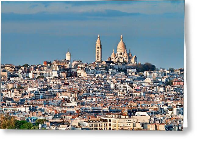Montmatre Greeting Card
