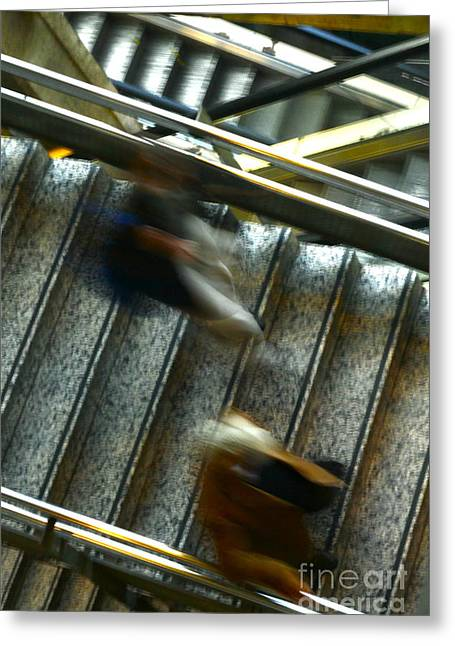 Greeting Card featuring the photograph Montparnasse Station by Danica Radman