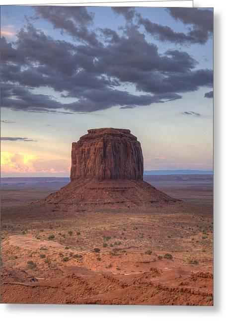 Monument Valley - Merrick Butte Greeting Card by Saija  Lehtonen