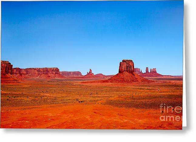 Monument Valley IIi Greeting Card