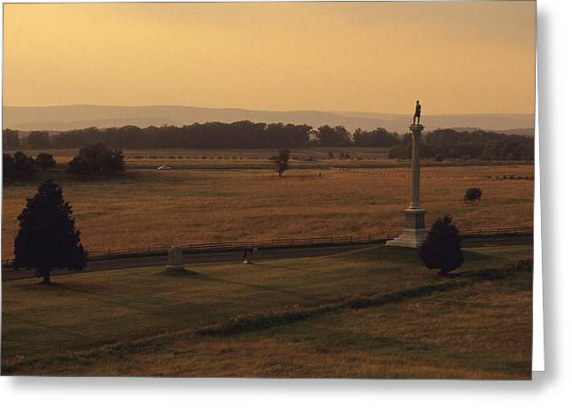 Monuments At Gettysburg National Greeting Card