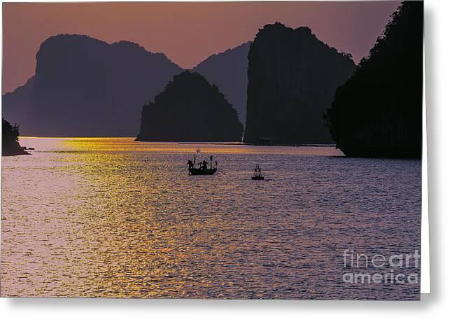 Moods Ha Long Bay Greeting Card