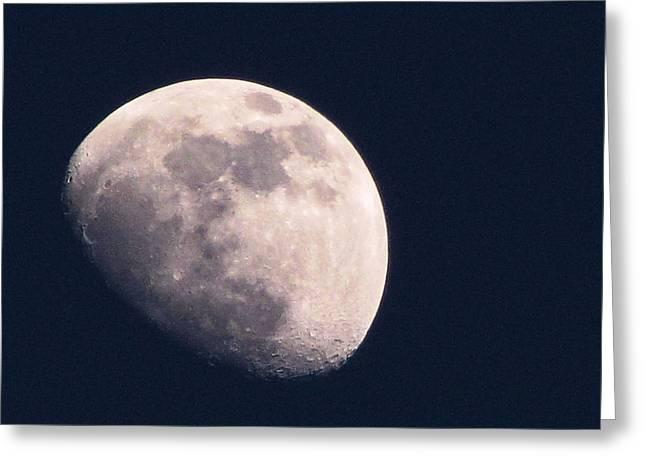 Moon Greeting Card by Katie Wing Vigil