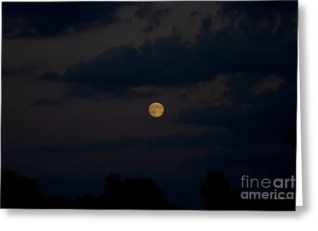 Moon Rising 06 Greeting Card by Thomas Woolworth