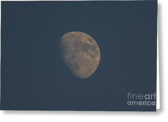 Moon2 Greeting Card by Cazyk Photography