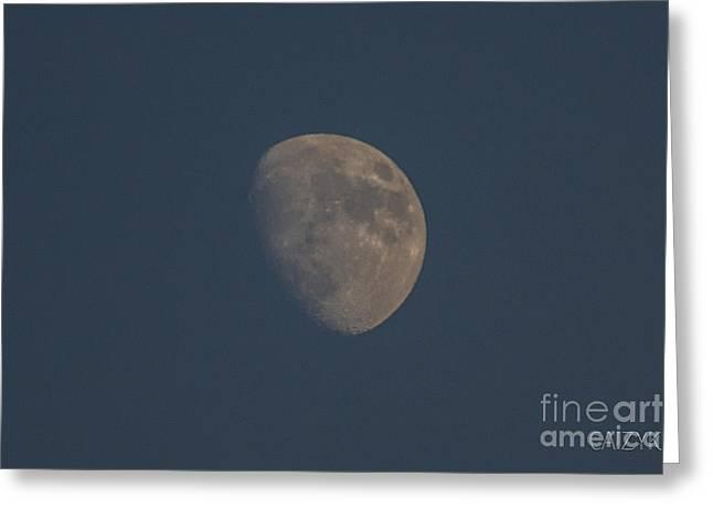 Moon2 Greeting Card