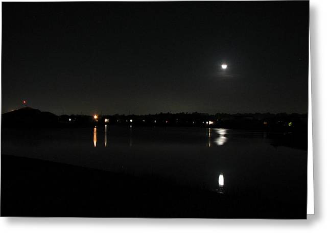 Greeting Card featuring the photograph Moonlight Tears by Bill Lucas