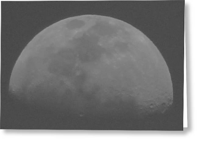 Moon's Shadow Greeting Card
