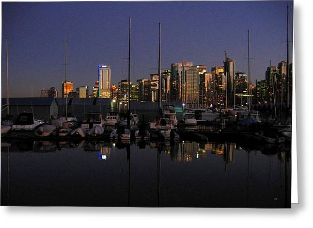 Moored For The Night Greeting Card by Will Borden