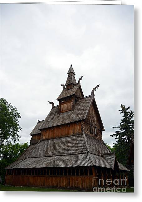 Moorhead Stave Church 26 Greeting Card