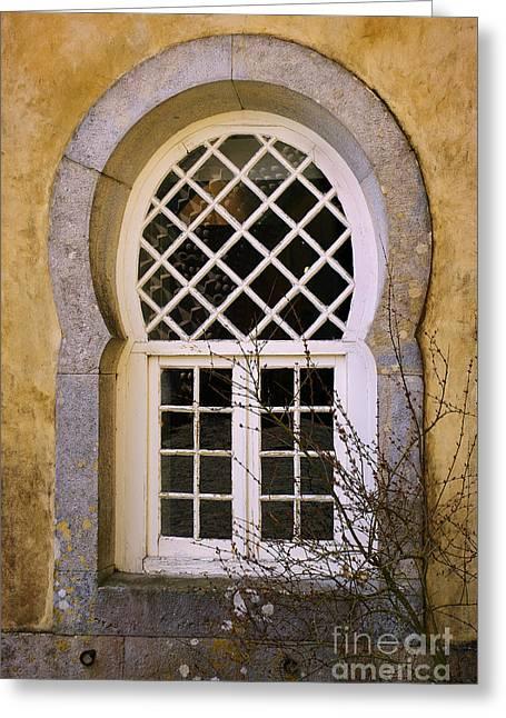 Moorish Window Greeting Card