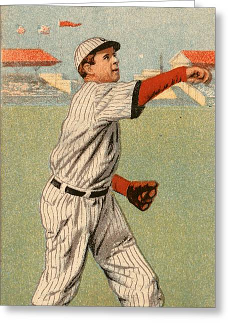 Mordecai Brown (1876-1948) Greeting Card by Granger