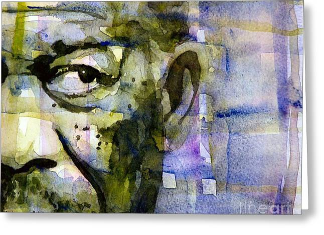 Morgan Greeting Card by Paul Lovering