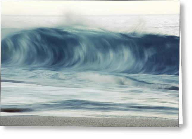 Moring Wave On Oahu Greeting Card
