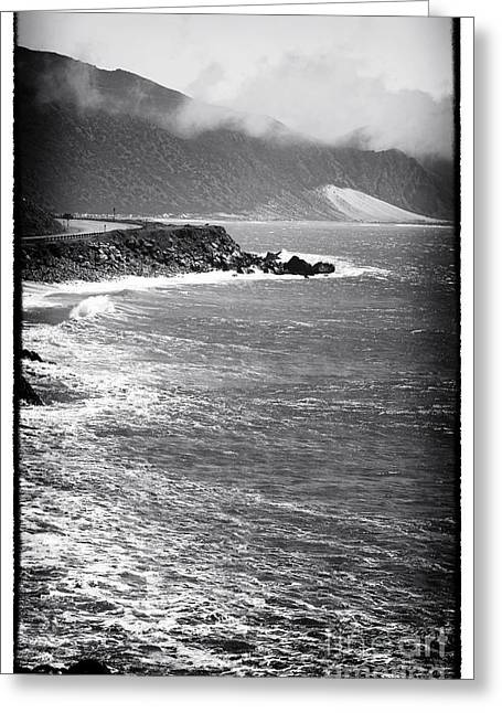 Morning Along The Coast Greeting Card by John Rizzuto