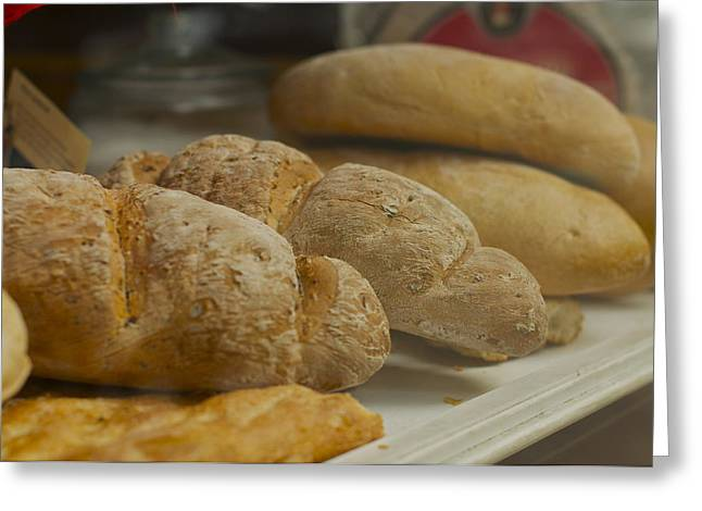 Morning Bread Greeting Card by William  Carson Jr