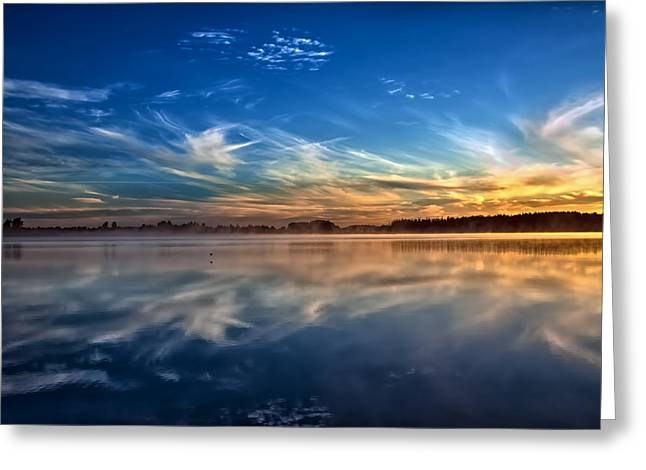 Morning Breeze Greeting Card by Gary Smith