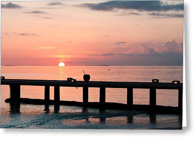 Greeting Card featuring the photograph Morning Calm by Shirley Mitchell
